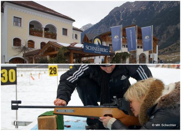 Biathlon Schiess-Schnupperkurse mit Wellness und Winterausklang für Sparfüchse