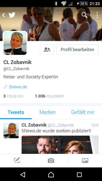Vielen Dank – 1.000 Twitter Follower