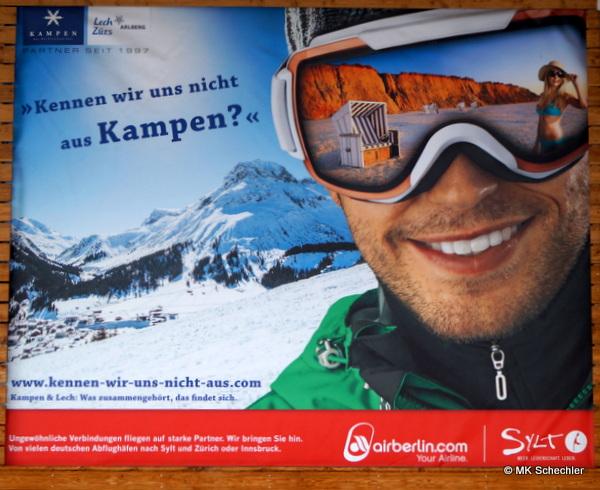 Eine steife Brise weht am Arlberg …