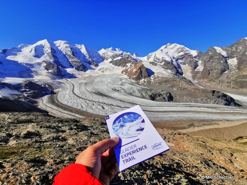 Dem Gletscher zum Anfassen nahe