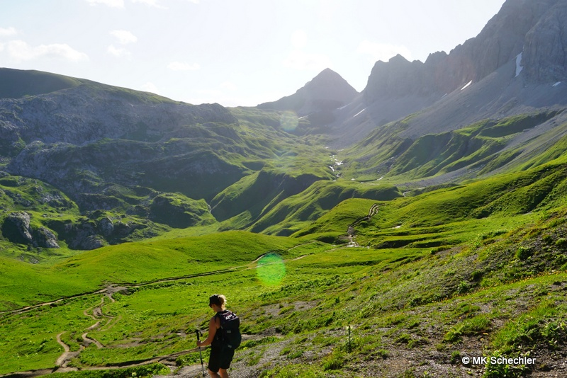 Eröffnung des Arlberg Trails