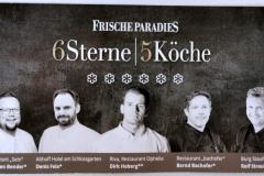 5 Köche 6 Sterne - Kochevent im Frischeparadies Stuttgart