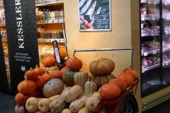 Herbstliches Ambiente im Markt