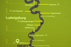 Die Neckarwindungen aufwärts bis Aldingen geht es