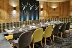 Unser Tisch im Hotel Schneeberg
