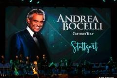 Andrea Bocelli  Tourplakat in der Schleyerhalle