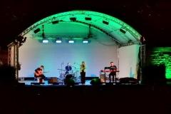 Heiteres Konzert an einem lauen Herbstabend in Stuttgart