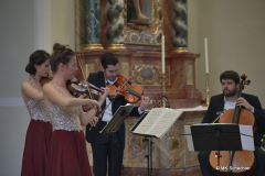 Das Aris Quartett bei den Höri Musiktagen 2021