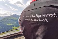 Motto des Arlberg Trail: Nur wo Du zu Fuß warst, warst Du wirklich!