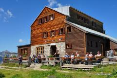 Die Stuttgarter Hütte auf 2.310 Meter