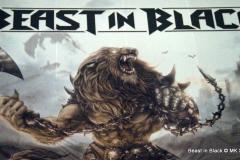 Beast in Black! Support für Nightwish in Stuttgart, unterwegs mit ihrer BERSERKER Tour.