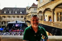 Redakteur MK Schechler für N-News.de vor Ort