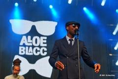 Den Abend eröffnet Aloe Blacc