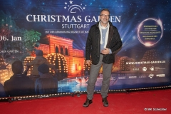 Redakteur MK Schechler bei der Eröffnung Christmas Garden Stuttgart 2019
