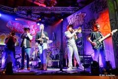 Musikalische Begleitung seit Jahren:  die Band ErpfenBrass
