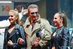 In einer Gastrolle:  Ex-EU-Kommisar Günther Oettinger