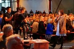 Sonja Faber-Schrecklein moderiert für die SWR Ausstrahlung der Sendung am Sonntag