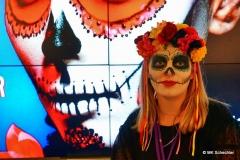 """Auch am Jaz Counter: Volle 'Dia de los Muertos"""" Bemalung"""