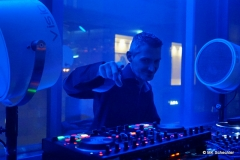 Am Turntable:  DJ T Hefner (Amici Stuttgart)