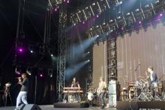 Aloe Blacc und Band