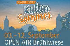 Waiblinger Kultursommer 2021