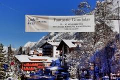 Ankunft in Lech am Arlberg