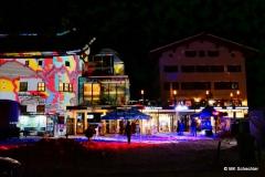Tag2:  Illuminierte Talstation der Rüfikopfbahn