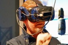 And.Ypsilon von den Fantastischen Vier mit VR Brille