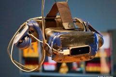 Die VR-Brille kann ausgiebig  getestet werden