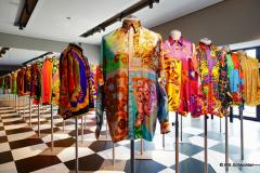 Gianni Versace : An der Bemusterung sofort erkennbar
