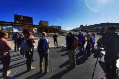 Bei der Eröffnung des Glacier Experience Trails