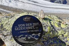 An insgesamt 5 Stationen wird über den Morteratschgletscher informiert