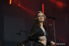 Ina Forsman bei den Jazzopen Stuttgart 2021