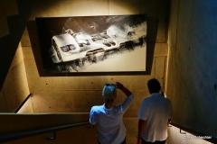 """Kunst natürlich auch im Treppenhaus: BMW der """"Bilderbuben"""""""