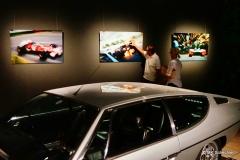 Hermann Maier erklärt die Besonderheit des Kunstwerkes