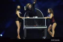 Daniel Craven mit Elke Waibel und Yana Grimm