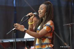 Die gebürtige Kamerunerin Ntjam Rosie lebt seit ihrer Kindheit in Holland