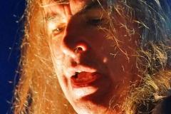 Justin Sulivan, Sänger und Gründungsmitglied der Band in 1980