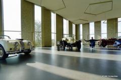 Auch in der Skylounge mit Blick auf die Festungsruine Hohentwiel: Nur Autos und ich