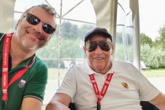 Im Gespräch mit meinem Beifahrer, Renn-Legende Herbert Linge