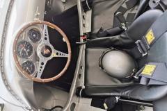 Die Sitzschale des Porsche 550 A Spyder mit meinem Helm