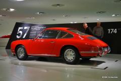 Der 901 in der Museumsausstellung