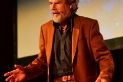 Reinhold Messner beim Vortrag in Pforzheim
