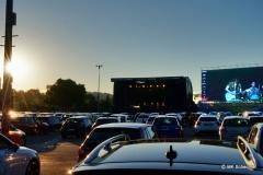 Bestes Wetter und ein gutes Konzert...