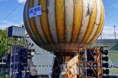 Der Ballon hat eine offizielle Flugnummer!