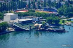 Seebühne Bregenz vom nahegelegenen Pfänder aus