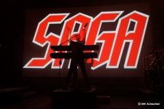 SAGA unterstreicht mit diesem Auftritt wieder einmal die Beliebtheit als Live-Act.