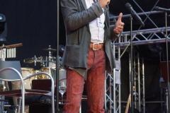 Zuvor begrüßt von jazzopen Promoter Jürgen Schlensog