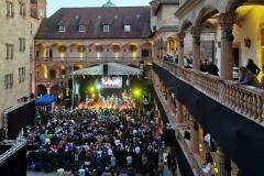 Letzter Tag der jazzopen 2019 im Schlosshof Altes Schloss Stuttgart