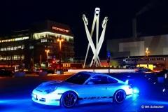 Porschemuseum Stuttgart Zuffenhausen. Der Veranstaltungsort für das Antenne1 Privat Konzert